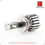 Farol de LED de luz carro 9007 com ventoinhas para Farol Automático