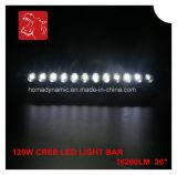 Barra chiara impermeabile blu/rossa/ambrata di multi colore di nuovo arrivo 2016/di verde di Singlle di riga LED della barra 120W qualità eccellente LED