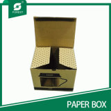 Eco-Friendly 주문 인쇄 마분지 찻잔 서류상 포장 상자