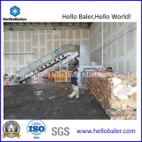 Plástico de compressão de empacotamento da máquina da imprensa hidráulica automática do papel Waste