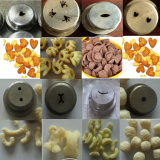 Totalmente automático de maíz Snack-máquina / Snacks Alimentos Extrusora