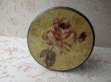 固体木の庭の腰掛けの円形の腰掛け(M-X2121)