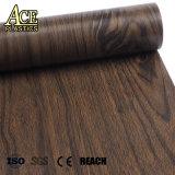 벽면 또는 Windows 문턱 문틀 또는 강철을%s 목제 곡물 PVC 장식적인 필름 문 또는 Fiberboard/WPC/MDF/Backband/Base/Wooden 널