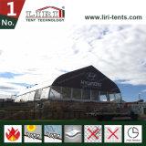 barraca curvada TFS desobstruída da extensão de 20m para o restaurante ao ar livre
