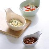 Tazón de snack y plato plato DIP Juego de vajilla cuenco