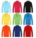 Coutume tous les tris de T-shirt de polo dans la longue chemise avec de divers couleurs, tailles, matériaux et modèles