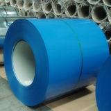 La bobine de PPGI et a enduit la bobine d'une première couche de peinture galvanisée (RAL 5019)