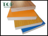 3-21 madera contrachapada de la melamina con el pegamento de E0, E1, E2, Sr., melamina, WBP, carburador 2