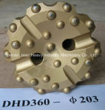 Preço de fábrica! ! ! Bit do martelo e de tecla da rocha DTH da pedreira da mineração de DHD360 Cop64