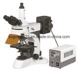 Microscopio fluorescente dritto del laboratorio di Bz-118f
