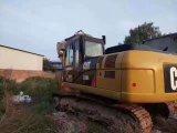 Lagarta usada muito boa 320d 2017 da máquina escavadora da condição de trabalho