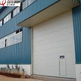 Промышленная безопасн автоматическая секционная дверь гаража с хорошей панелью изоляции
