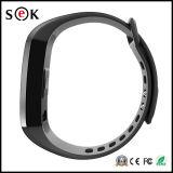 Reloj elegante de la pulsera de Bluetooth 4.0 del podómetro del monitor del ritmo cardíaco de la presión arterial de la aptitud elegante del M2
