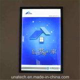 極度の細いLEDの側光ボックスを広告する屋内公共利益媒体のアルミニウムフレーム