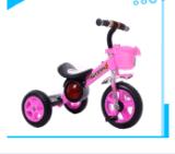 Triciclo all'ingrosso del bambino dei capretti della Cina con il motorino della bici dei bambini di musica