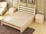 Festes hölzernes Bett-moderne doppelte Betten (M-X2304)