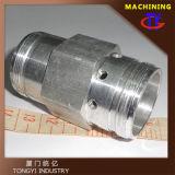 Tubo de acero inoxidable de mecanizado CNC de las articulaciones