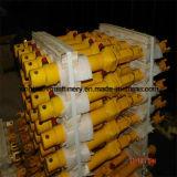 Cilindro hidráulico longo de caminhão de descarga do curso estágio elevado da capacidade de carga do multi