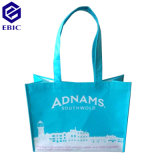 Met een laag bedekte pp Nonwoven of Woven RPET Shopping Bag met Handle