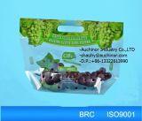 新鮮な果物の包装のためのハンドルまたはZiplockが付いているブドウの包装袋