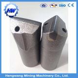 Bits de cinzel de carboneto de tungstênio para brocas de perfuração de cincel