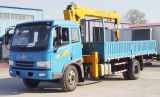 FAW 8-12 Toneladas camión de carga con grúa