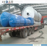 Processo do desperdício municipal para olear a planta 2800-6000 de Pyrolisis