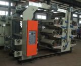 4つのカラーフレキソ印刷の印字機のプラスチックフィルム