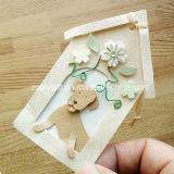Forma decorativa casa de perro personalizado DIY Arte de papel