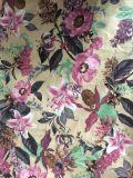 Le tricot de velours pour canapé/tissu imprimé