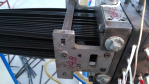 Marca de marcado automático de línea de marcado automático Marca de máquina en plástico