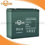 batterie solaire de batterie d'acide de plomb de 12V 20ah pour le système solaire portatif