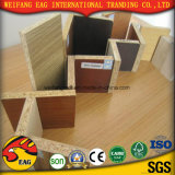 9mm Grau de mobiliário de madeira simples aglomerado de decoração do gabinete