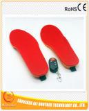 RoHS及びセリウム3.7V 1800mAhの遠隔再充電可能な暖房の靴の中敷