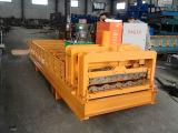 Farben-Stahlfurchung-Dach-Panel Verglasung Fliese-Rolle, die Maschine bildet