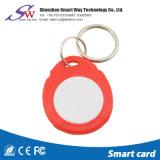 Spezieller konzipierter Plastikhalter intelligentes RFID Keyfob Keychain Em4100