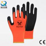 Le latex faisant une sieste acrylique de garniture a enduit le gant de l'hiver de travail de sûreté (L028)