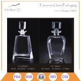 Bottiglia di vetro eccellente dei liquori della bottiglia della vodka del silice 880ml