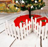 La visualizzazione della finestra di scena di natale della decorazione dell'albero di Natale Props 1.6 tester di rete fissa di legno