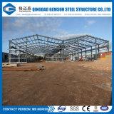 De Bouw die van het ontwerp Workhouse van het Structurele Staal de Workshop van de Loods bouwen