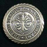 다이아몬드 커트 가장자리를 가진 주문을 받아서 만들어진 도전 동전