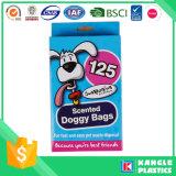 Certificado Brc perro de la bolsa de residuos biodegradables con asa Tie