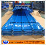 Rippe-Typ gewölbtes Farben-Dach-Blatt für Isolierzwischenlage-Panel