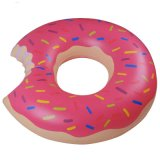PVC 또는 TPU 팽창식 도넛 수영 반지