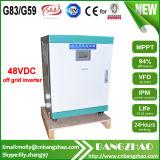 48VDC-120V/220VAC convertisseur à onde sinusoïdale à sortie double