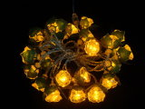 De LEIDENE Lichten van het Koord met Verschillende Dekking, namen, Ster, voor het Huwelijk van de Partij van de Vakantie, het Licht van Kerstmis toe