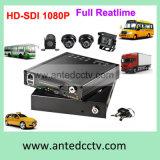el sistema de vigilancia video del CCTV 4CH para el coche de los carros de los vehículos transporta los autobuses escolares