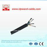 Mina/caucho/cable de transmisión flexibles forrados caucho
