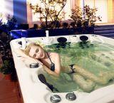 Style simple portable acrylique baignoire de massage sanitaires