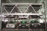 Système automatique de stationnement de véhicule de puzzle d'entraînement de deux - sept moteurs